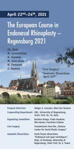 Cover Flyer Regensburg 2021